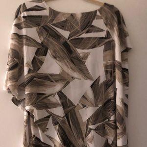 Alfani fashion top size XL earthtone colors